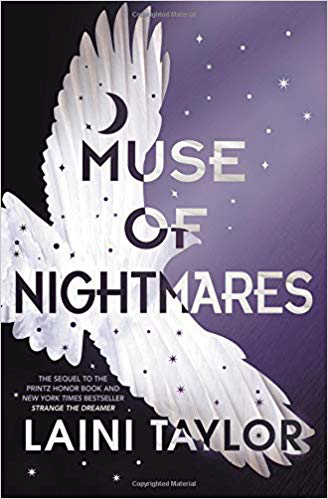 Book cover for Muse of Nightmares