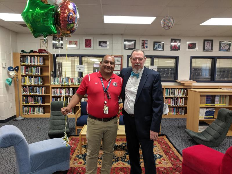 Congratulations to Cheraw High School Teacher of the Year, Mr. Palmera! Featured Photo
