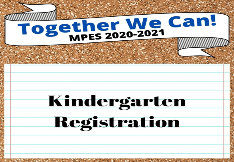 MPES Kindergarten Registration Thumbnail Image