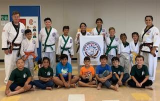 Picture of students in the Karate Club