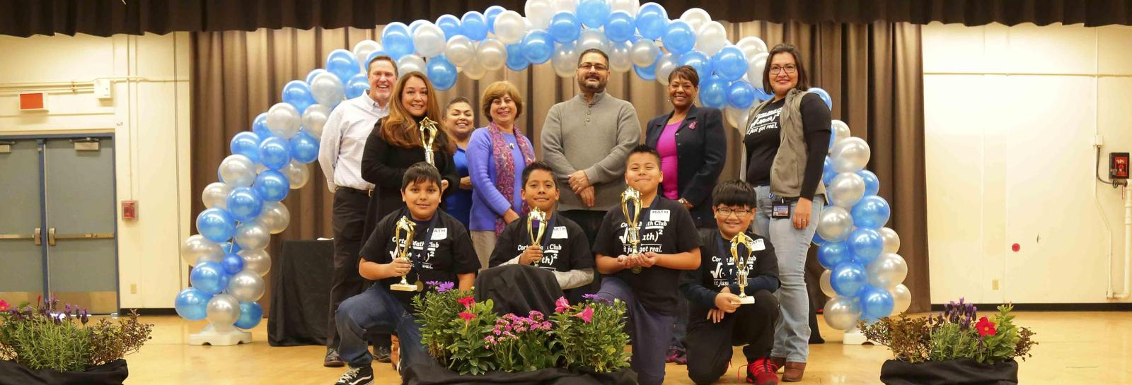 Cortez 8th Grade students take 2nd Place at the Math Field Day - Congratulations to all of our Wizards that won 2nd Place at the Math Field Day held at Garey High School. We are proud of your academic success! #proud2bepusd http://edl.io/n1149217