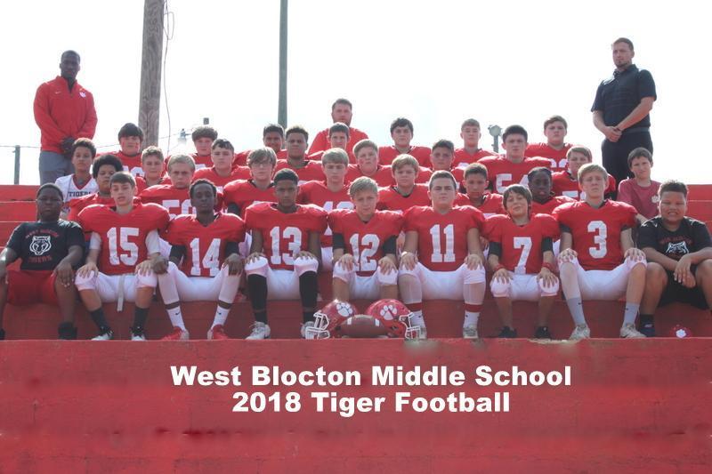 WBMS 2018 Football Team