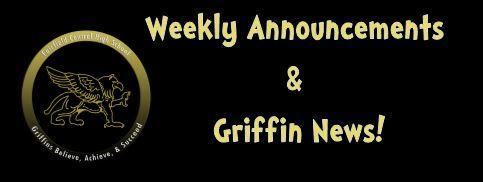 Weekly Griffin News Updates Featured Photo