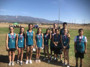 Dartmouth Cross Country at Beaumont Invitational