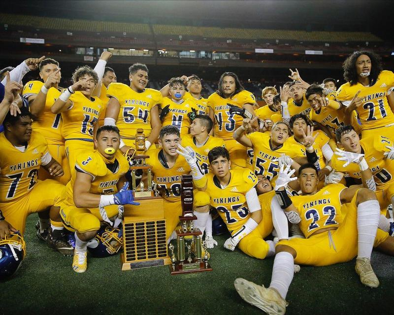 2019 HHSAA Division 1 Football CHAMPIONS Featured Photo