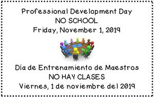 no school november 1st