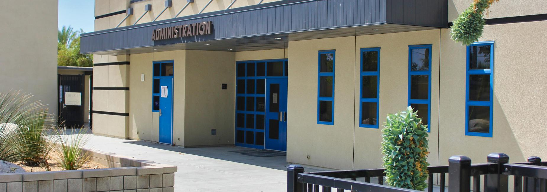 Acacia Middle School administration building