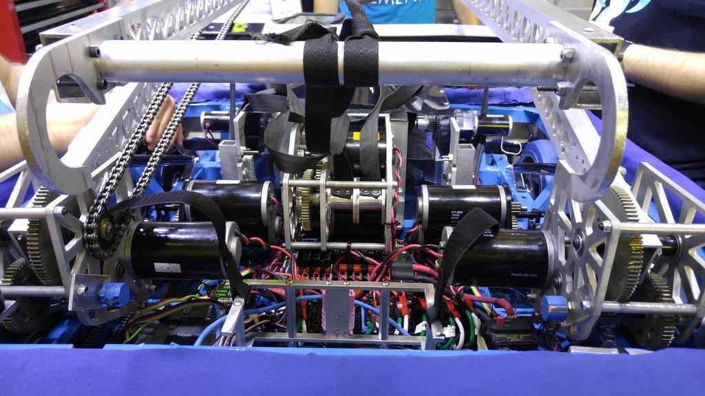 Internals of robot