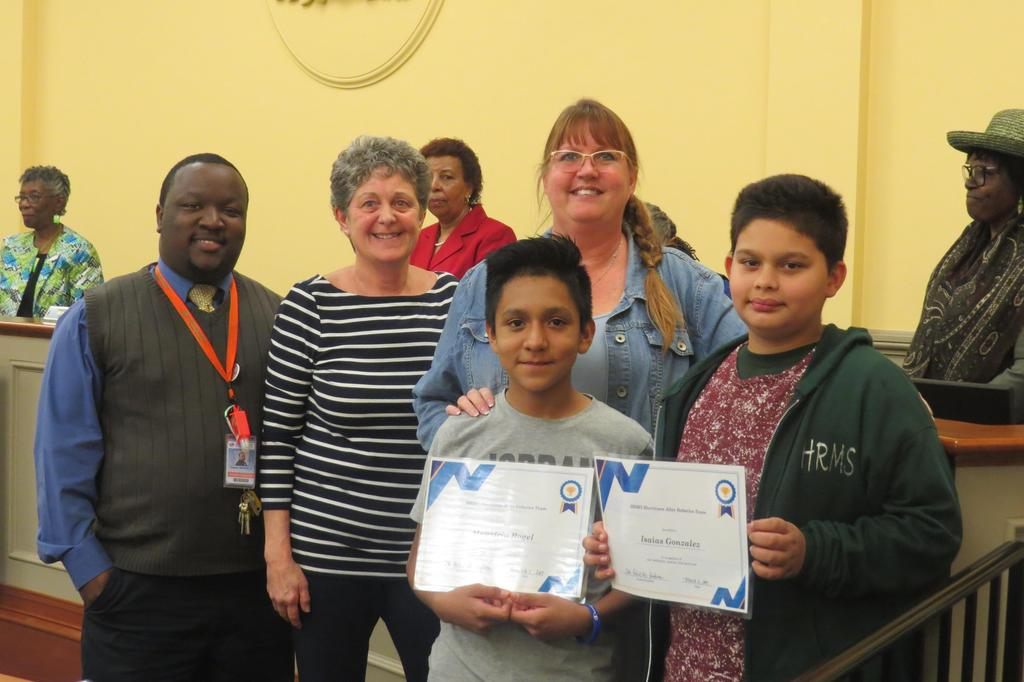 Board of Education - Student Spotlight - 2nd Semester
