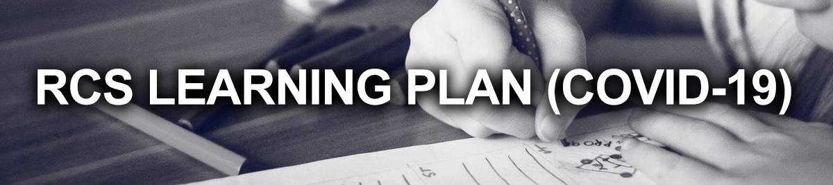 RCS LEARNING PLAN BANNER