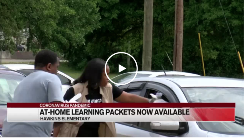 Learning packets distributed during grab-and-go Featured Photo