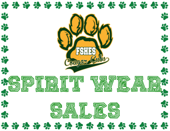 Spirit Wear Sales