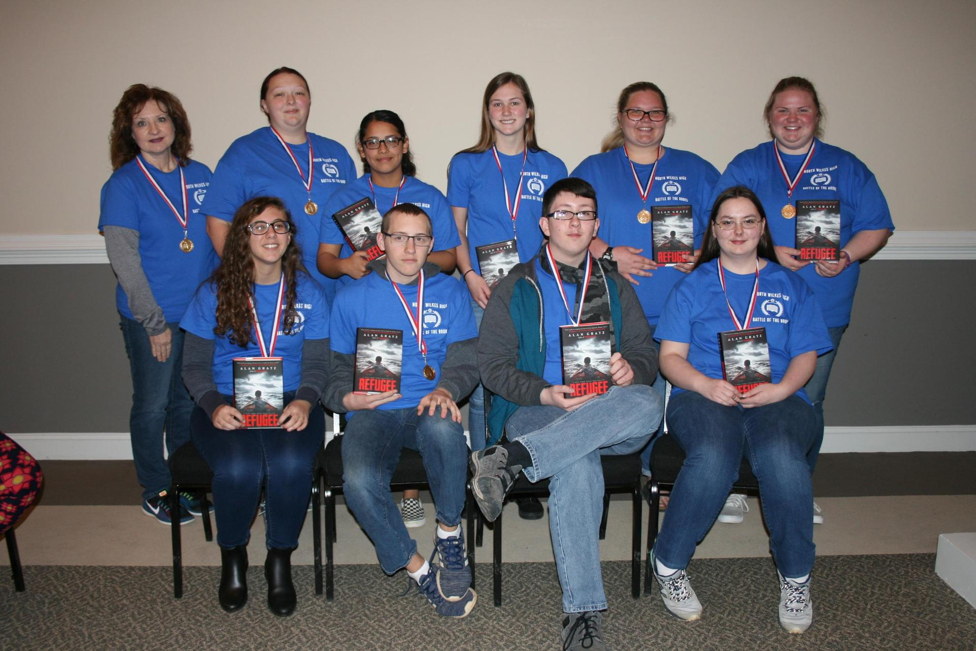 North Wilkes High Battle of Books Team