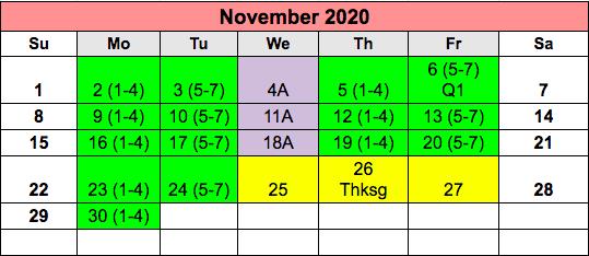 NOVEMEBER 2020