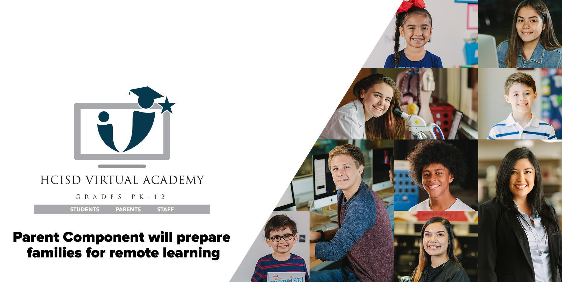 HCISD Virtual Academy: Parent Component will prepare families for remote learning