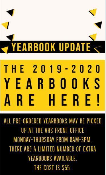 Yearbook Update
