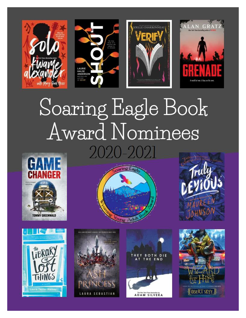 Soaring Eagle Books for 2021