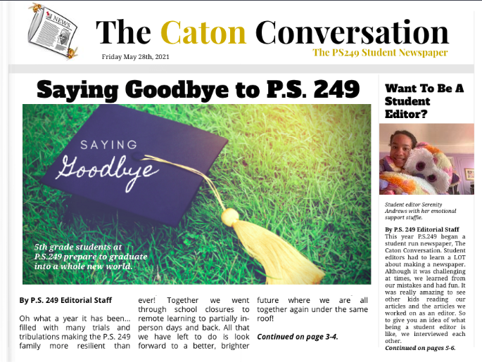 The Caton Conversation, Final Edition
