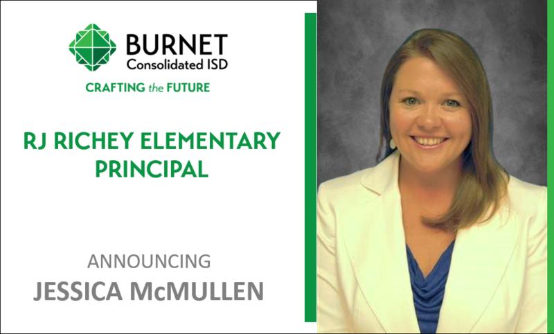 Burnet CISD Names New Principal at RJ Richey Elementary Thumbnail Image