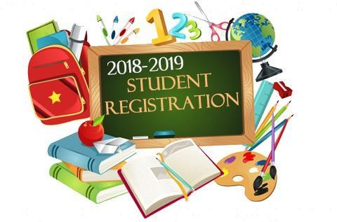 Student Registration 2018-2019 Featured Photo