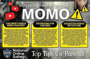 National Online Safety Guide- What Parents need to know about Momo