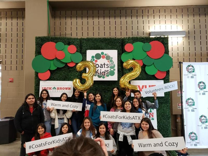 Reagan Early College Student Council - Coats For Kids Thumbnail Image