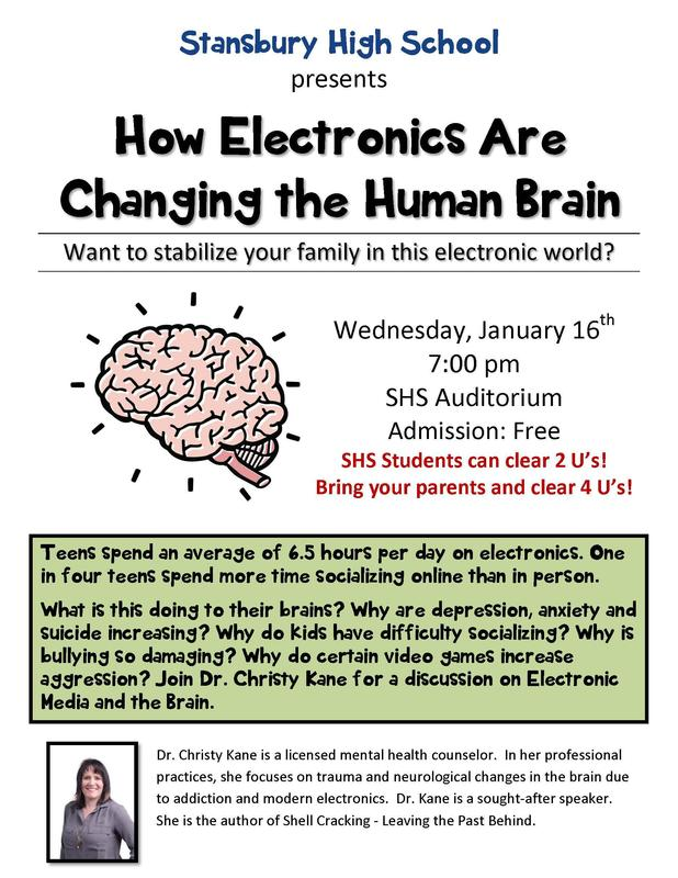 Flyer for Presentation