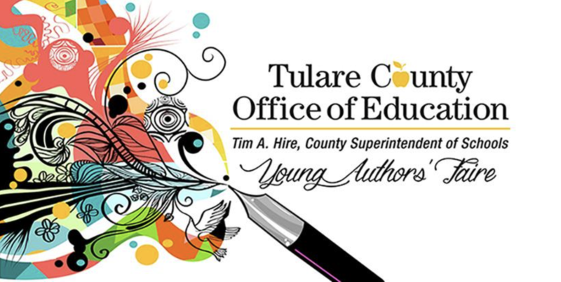 Tulare County Young Authors Faire Graphic