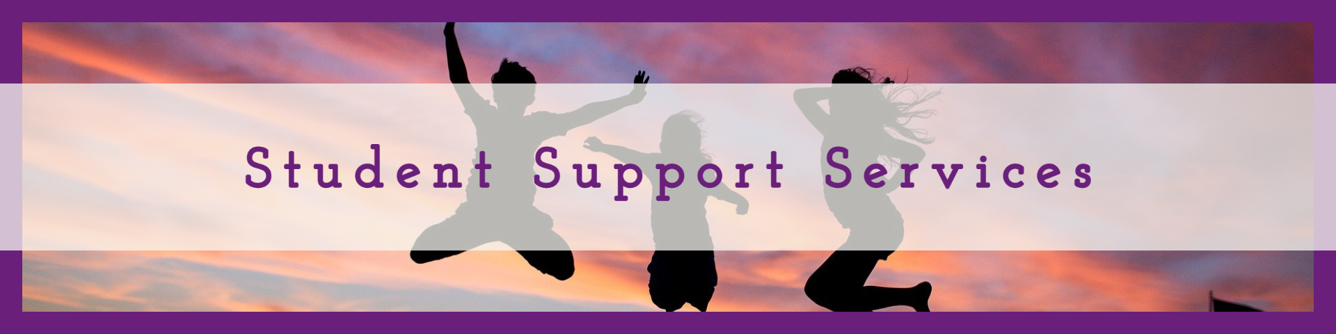 Student Support Services Header