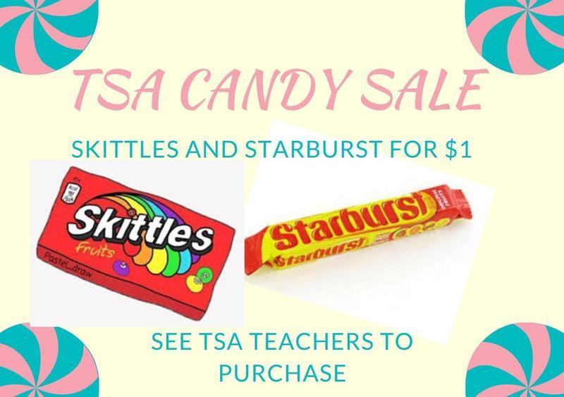 TSA Candy Sale Thumbnail Image
