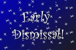 Early Dismissal Today at 1:30pm Featured Photo