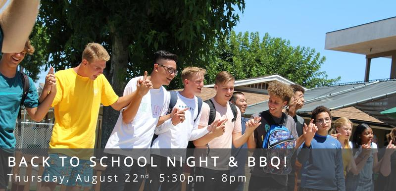 Back To School Night & BBQ Featured Photo
