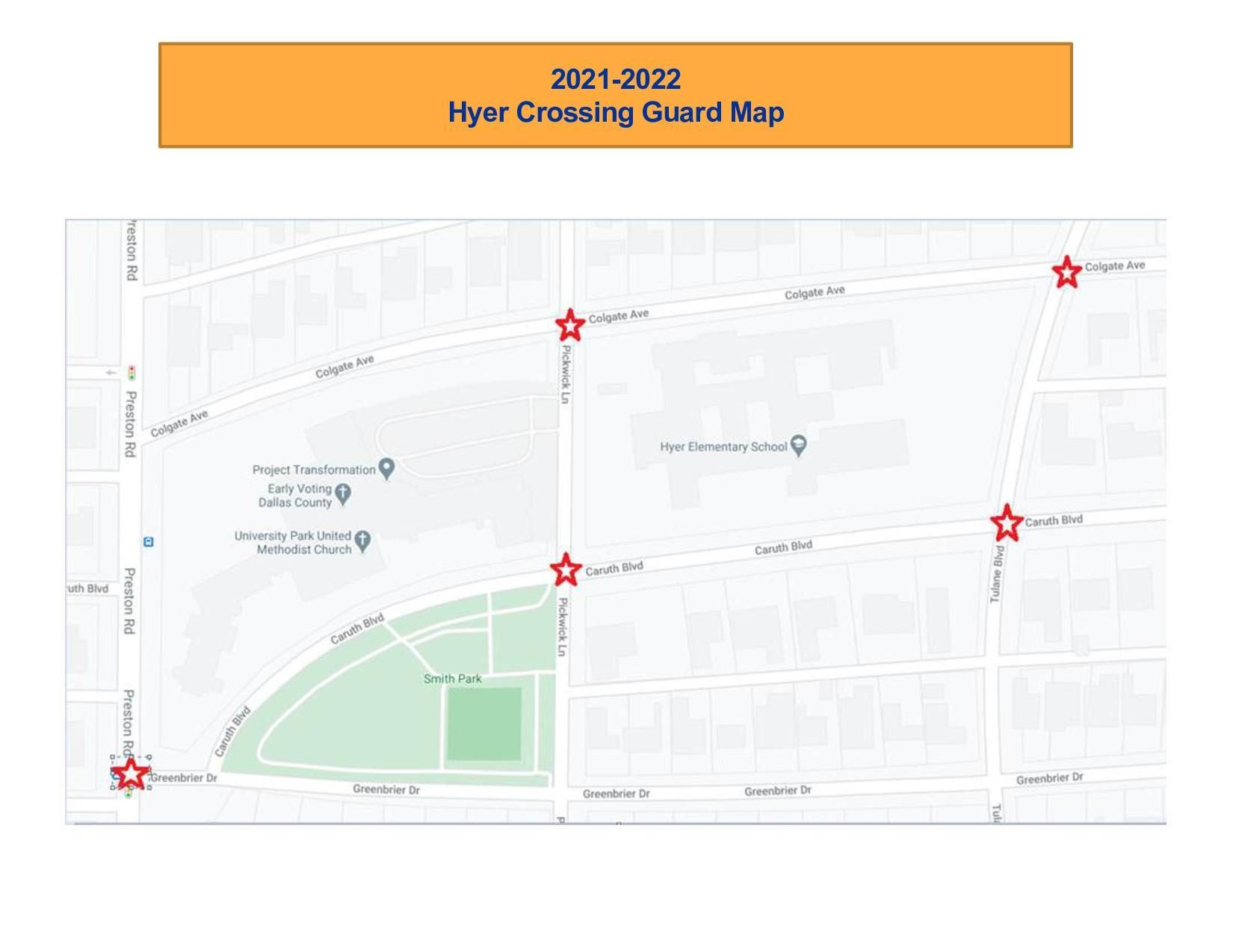 Hyer Crossing Guard Stations