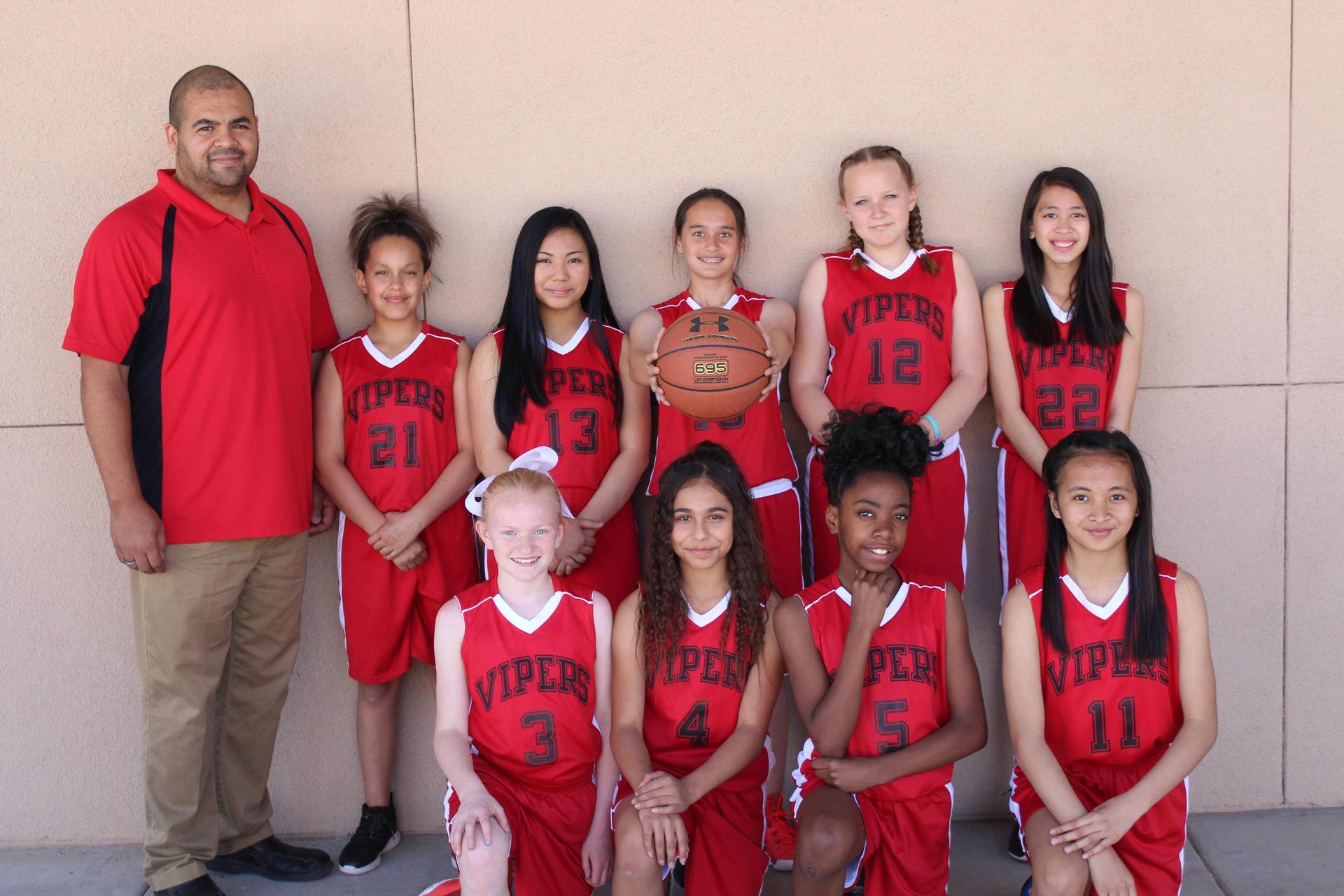 2018 Vipers Girls Basketball