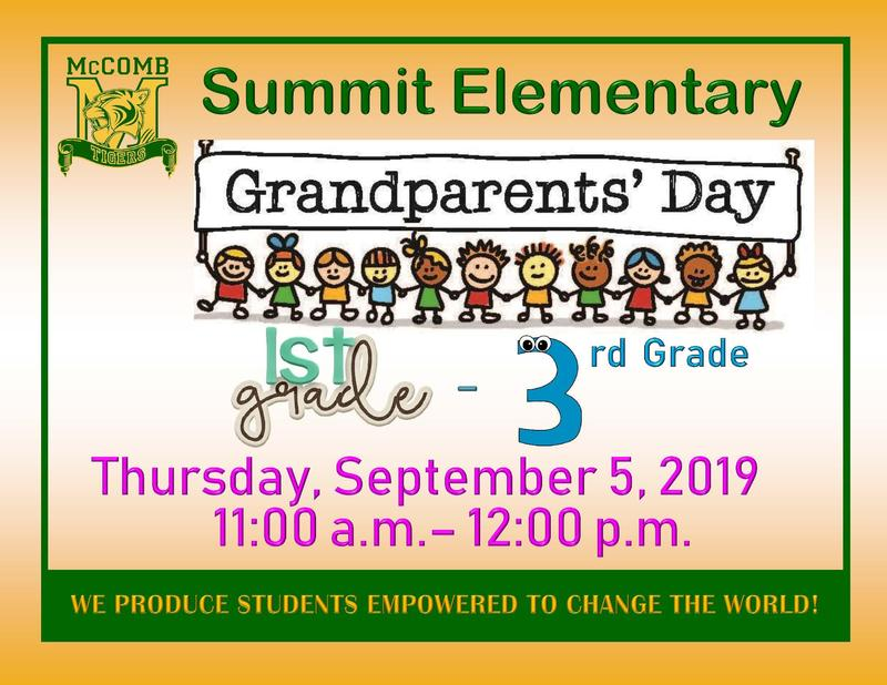 Summit Elementary Grandparents' Day 21019