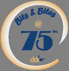 Bits and Bites @75 logo
