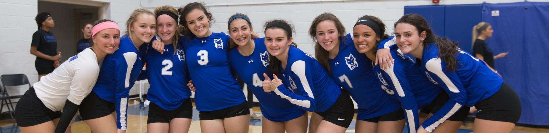 LHS female sports team photo