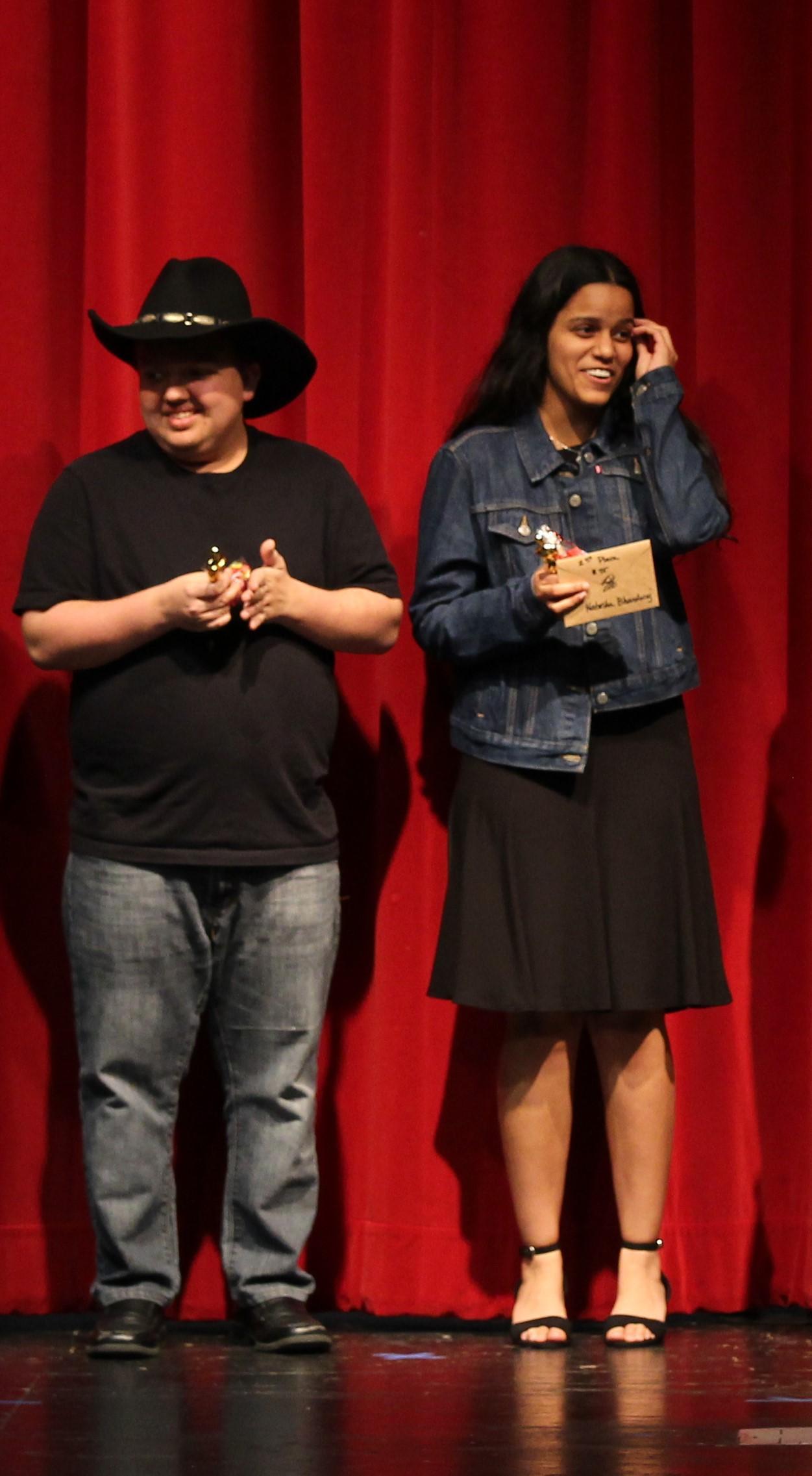 Jaxon Powell and Natasha Bhardwaj