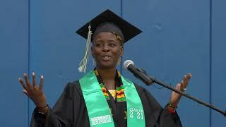 Hear graduation remarks from the ceremony. Featured Photo