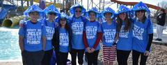 The Fine Arts Academy team won first place in the costume contest  at the BRRRewer Bear Plunge on Jan. 26.