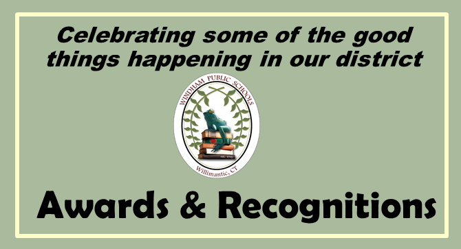 Awards & Recognitions: Celebrating some of the best news from our district! Thumbnail Image