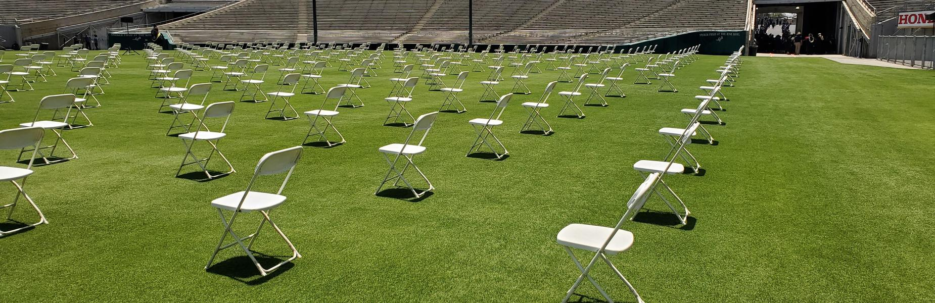 Graduation at the Rose Bowl - May 27, 2021