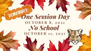fall school changes