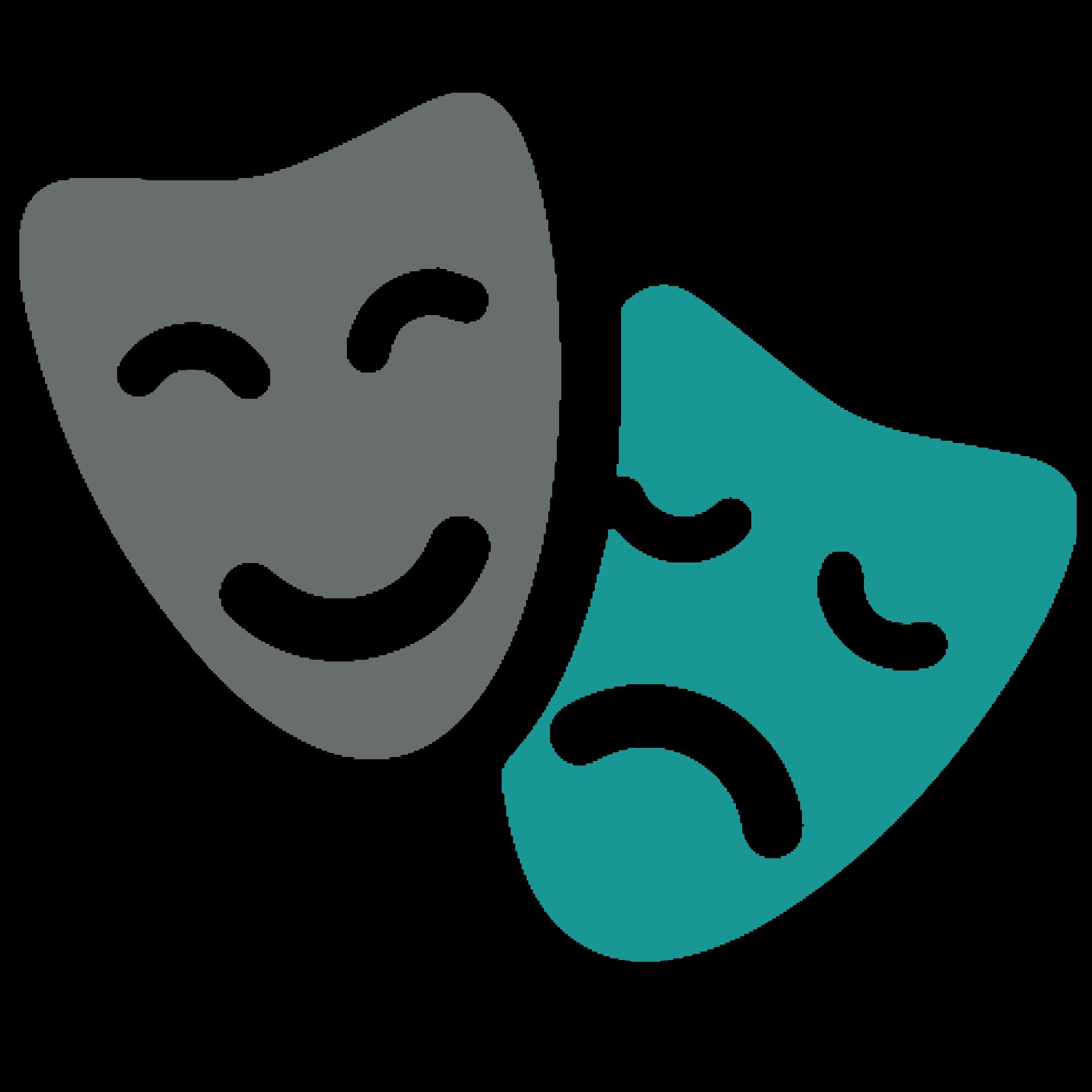 Mascaras de teatro