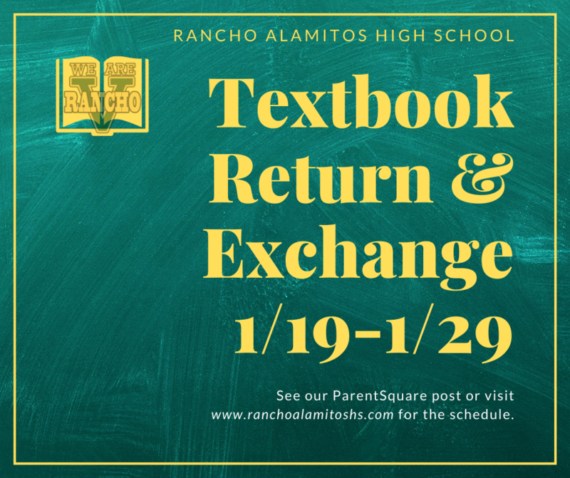 Textbook Return/Exchange for 2nd Semester Classes Featured Photo