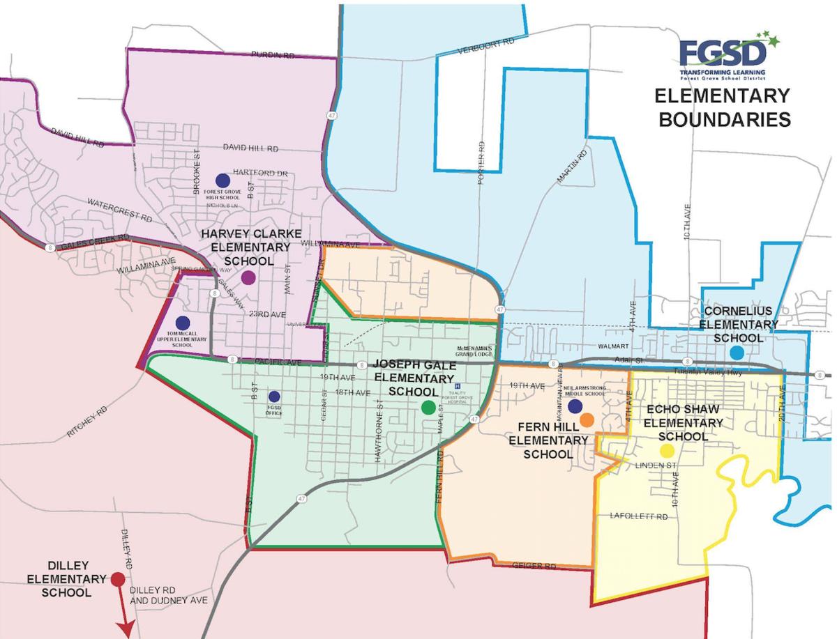 map of school boundaries