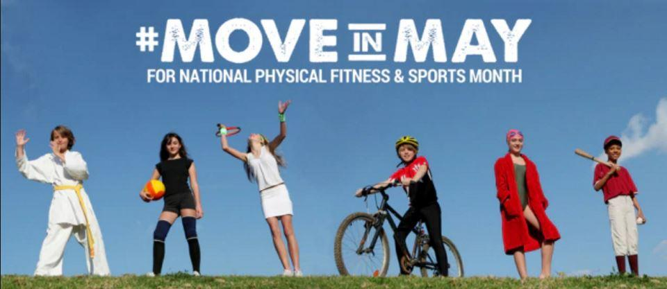 National Physical Fitness Month is in May