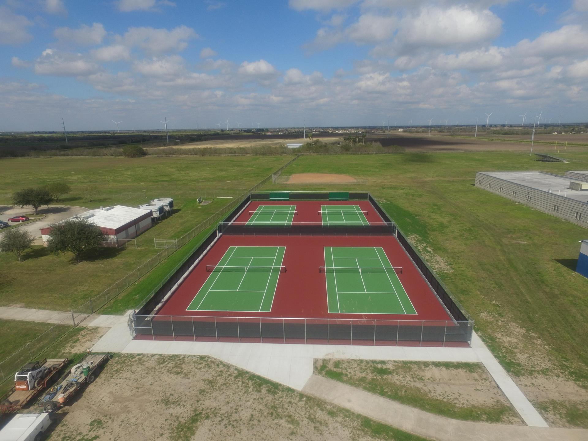 LMMS tennis courts