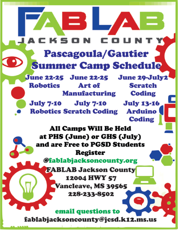 Please visit fablabjacksoncounty.org to register!