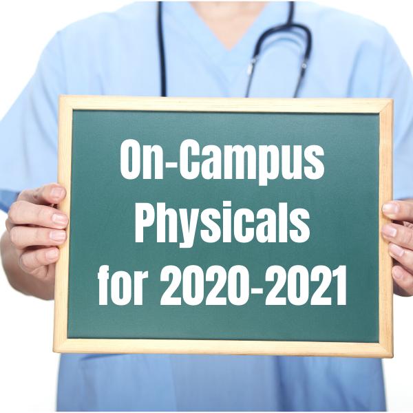 HHCA On-Campus Physicals